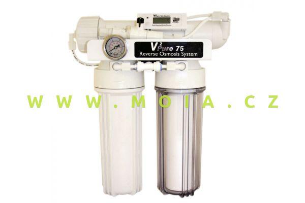 """TMC RO """"V2Pure 75"""" s průběžným digitálním měřením demineralizace"""