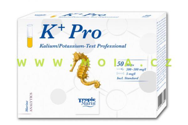 Profesionální testy TM® Potassium – K draslík – mořská voda – přesnost 5 mg/l
