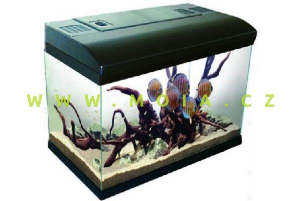 Kompletní akvárium MIR 60 (filtr + topítko + osvětlení)