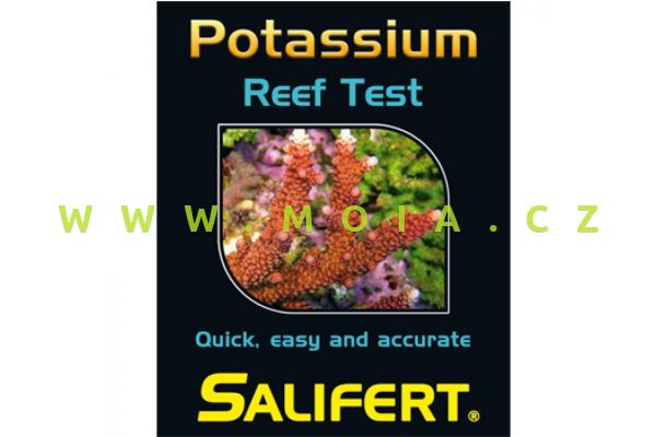 Salifert Potassium Reef Test – test draslíku pro mořská akvária