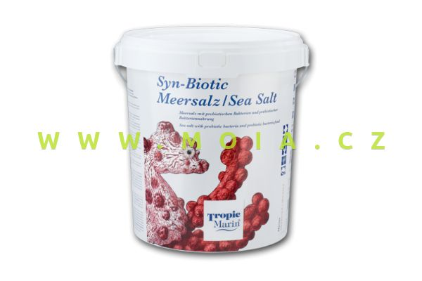 Mořská sůl  Tropic Marin® Syn-Biotic Sea Salt, kbelík 10 kg – 300 l