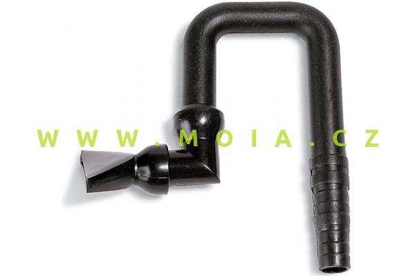 Výstupní hadicová dýza s klouby tvaru U