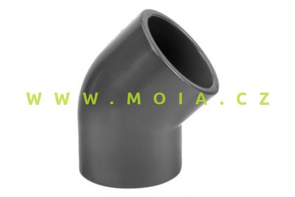 PVC koleno 45° 16 x 16