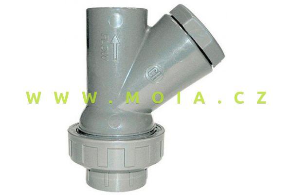 PVC zpětná klapka Y 16