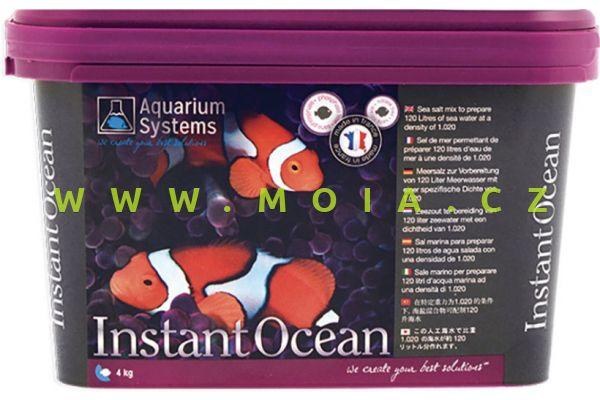Mořská sůl AQUARIUM SYSTEMS INSTANT OCEAN 4 kg – 120 l