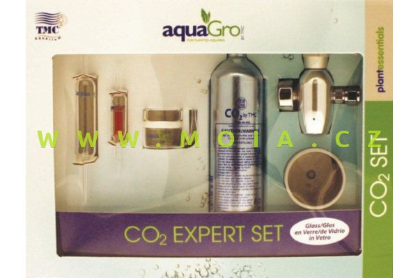 Sada CO2 AquaGro Expert Set (skleněná)