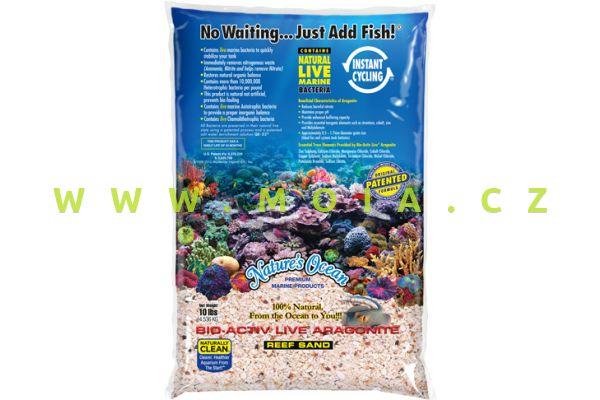 Rifový substrát živý Nature´s Ocean Bio-Activ REEF SUBSTRATE 1-4 mm sáček 7,26 kg