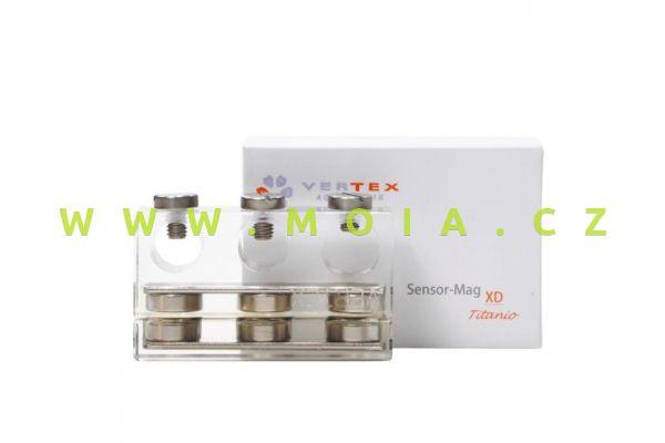 Magnetický držák titanový pro elektrody – 2x12mm a 1x15mm
