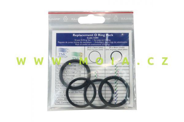 Sada O kroužků Pro Clear 29,5 × 3 mm  / 29 × 4 mm pro UV 15, 25, 30 a 110