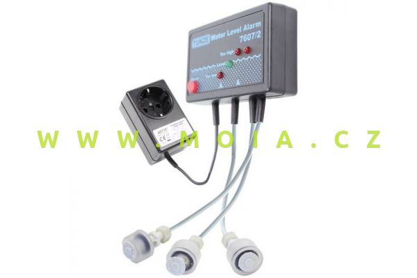 Signalizace vodní hladiny TUNZE se třemi senzory a příslušenstvím pro řízení