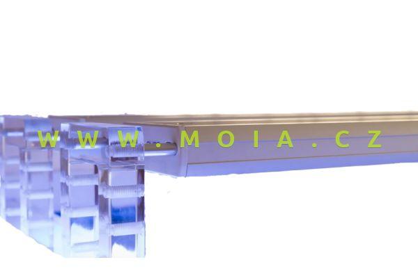 Universální držák (pár) AquaLEDs osvětlení na hranu akvária