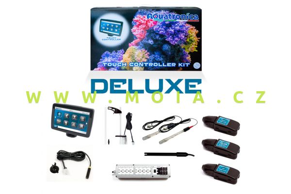 Sada ACQ140KIT-DL poč. dotykový Aquatronica DELUXE -Sada+ORP+salinita