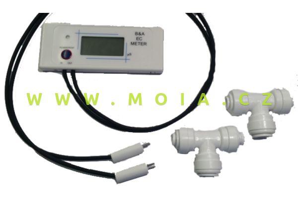 TMC V2Pure in-Line TDS Meter pro měření demineralizace RO vody