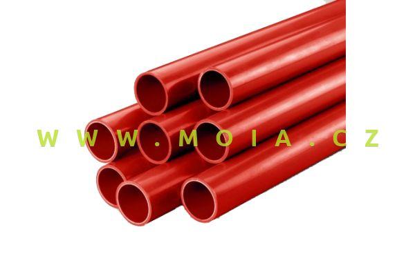 PVC trubka červená (1m)  50