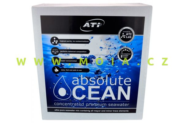 ATI absolut Ocean - koncentrovaná mořská voda - 2 x 10,2 l.