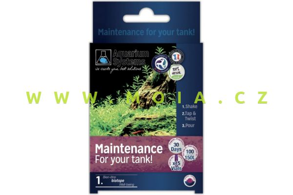 Dr.Tim´s program Maintenance - údržby pro sladkovodní akvária
