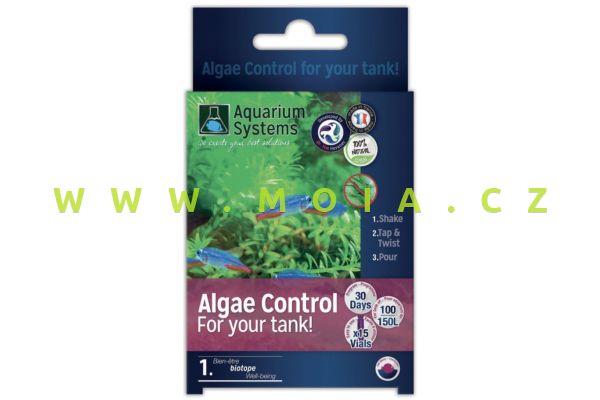 Dr.Tim´s program Algae Control – kontrola řasení pro sladkovodní akvária