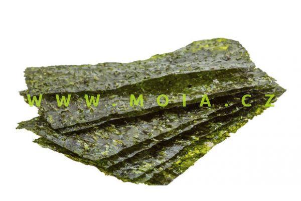 Mořská řasa - balení 10 listů (15g)