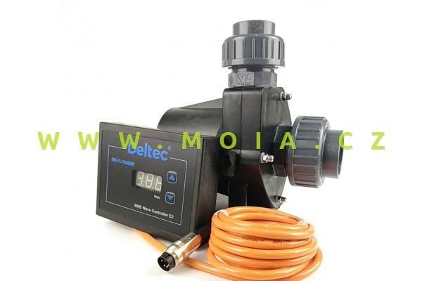 Čerpadlo 24V, nehlučné, regulační DELTEC E-FLOW 10: max. 9000 l/hod, 6 m, 80 W