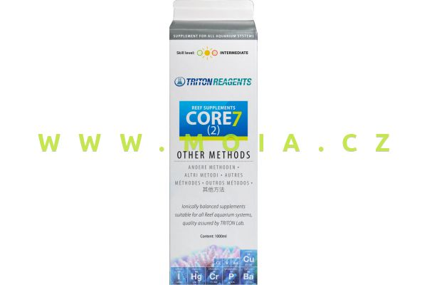 Doplňkové elementy TRITON Core7 (2) Reef Supplements other methods, 1 l