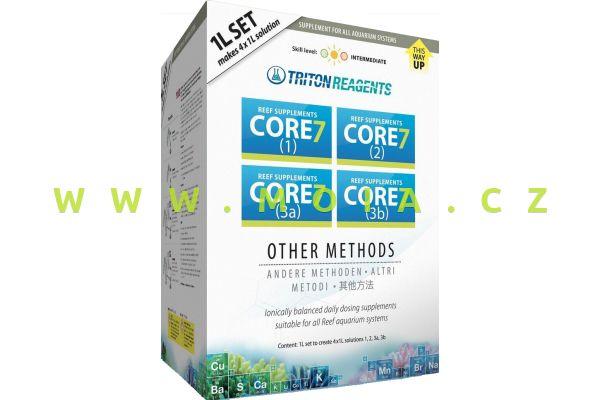 Doplňkové elementy TRITON Core7 Reef Supplements other methods, sada 4× 1 l