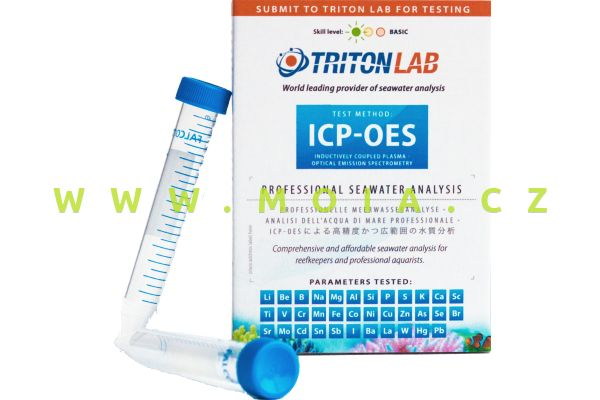 Laboratorní test Triton Professional Water analysis ICP-OES