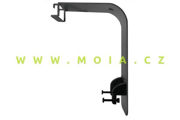 Konzola AI - designový štíhlý držák pro osvětlení Hydra 26 HD a 52HD, 60cm, černá