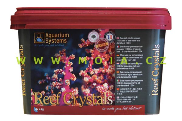 Mořská sůl AQUARIUM SYSTEMS REEF CRYSTALS 4 kg – 110 l