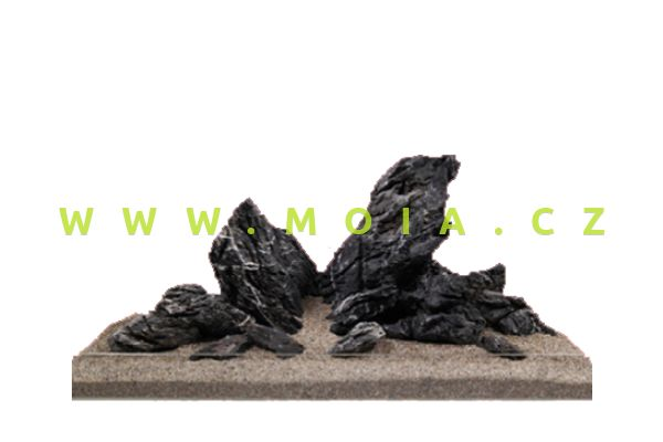 Estetická dekorace - Mini-krajinka, černá, cena/kg