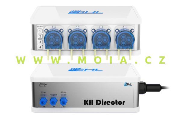 GHL KH Director & GHL Doser 2.1 závislý, 4 řízená čerpadla