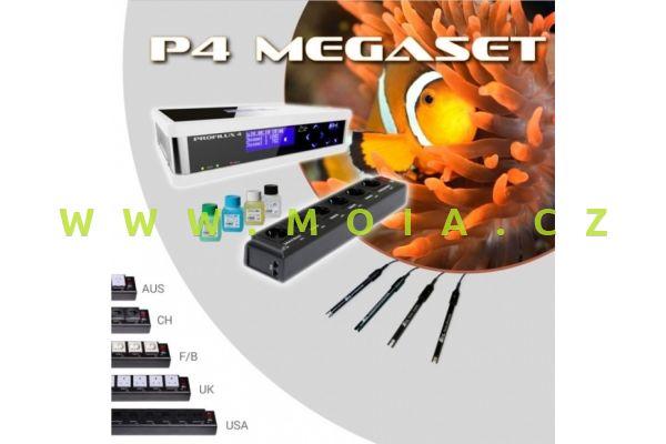 Velká sada akvarijního počítače GHL ProfiLux 4 Mega-Set, bílý