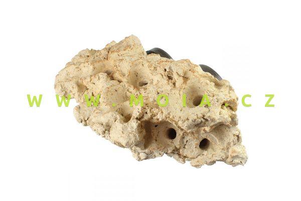 Coral rock long – TUNZE porézní keramický kámen na magnet pro umístění korálů