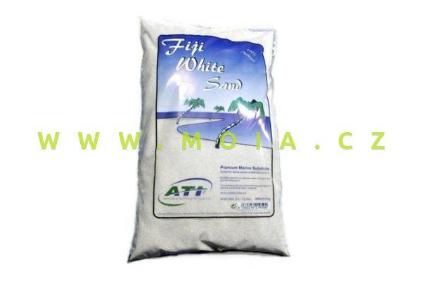 """Písek """"Fiji White Sand"""", zrnitost 0,3-1,2mm - 9,07kg sáček"""
