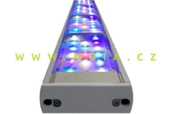 LED osvětlení IP67 rifové aquaBAR180 HighColor+, 162 × 9 × 3,4 cm