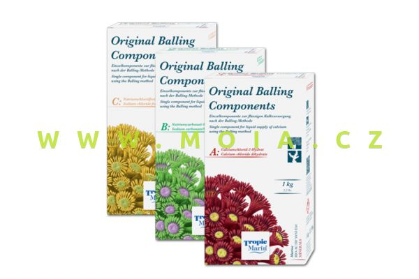 Sada TROPIC MARIN® Original Balling Components,  3×1000 g