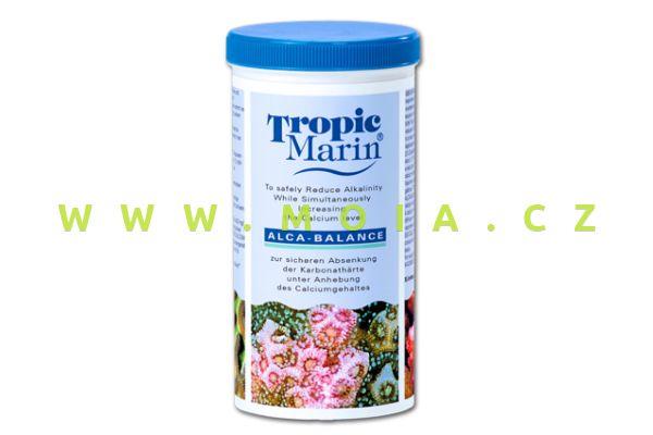 TROPIC MARIN® ALCA-BALANCE 400 g, optimalizace alkality při současném zvyšování Ca