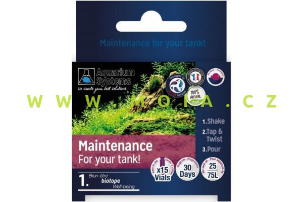 Dr.Tim´s program Maintenance - údržby pro NANO sladkovodní akvária
