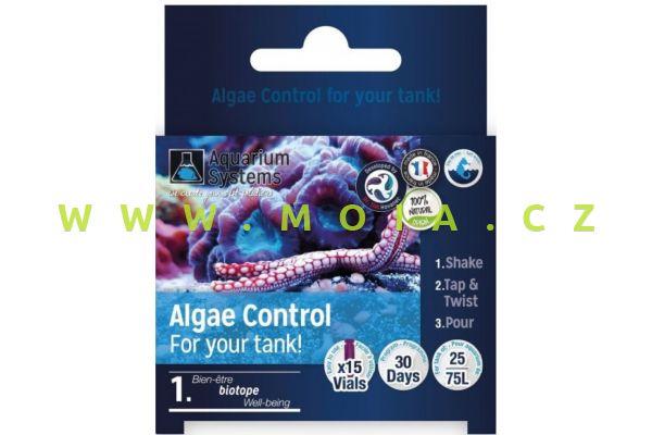 Dr.Tim´s program Algae Control – kontrola řasení pro NANO mořská akvária