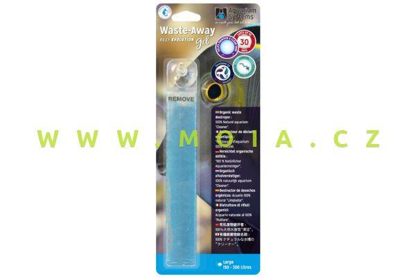 Dr.Tim´s WASTE-AWAY Gel marine Large – dlouhodobé řešení odpadních látek: akv. 150–300 l