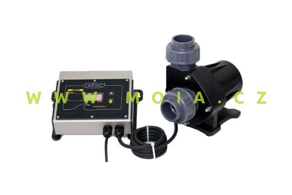 Čerpadlo 24V, nehlučné, regulační DELTEC E-FLOW 16: max. 14500 l/hod, 9 m, 180 W