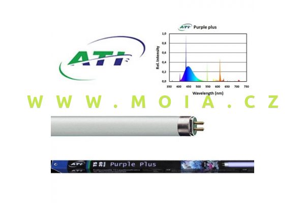 Zářivka T5 –  ATI Purple Plus 39 W (849 mm)