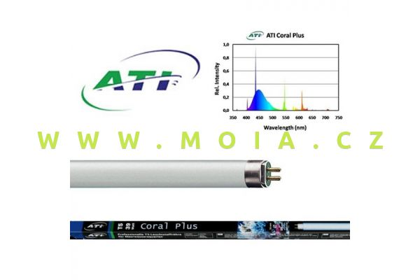 Zářivka T5 –  ATI Coral Plus 39 W (849 mm)