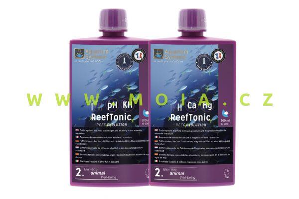 Reef TONIC 1 & 2 – Wilkensův stabilizátor pH, kH, Ca a Mg , 2× 5 l