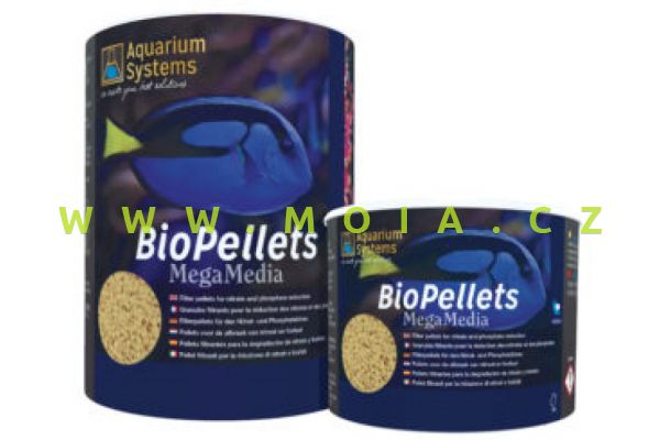 Aquarium Systems NP Biopellets, Bio pelety 1000ml na snížení N a P
