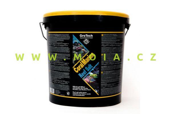 GroTech Mořská sůl CoralMarine Salz 21kg/600l