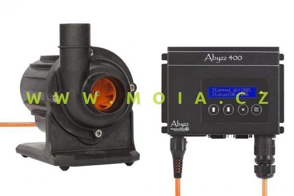 Čerpadlo Abyzz A400 - 3 m kabel: 0 až 18.600 l/hod, 4 až 400 W, max. 13 m