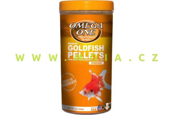 Goldfish pellets medium, sinking, 3mm, 226 g