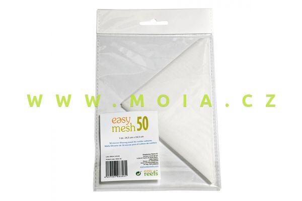 Easymesh 50 - filtrační síťka 50µ pro nejjemnější výběr (artemia, rotifer), 24,5 × 24,5 cm