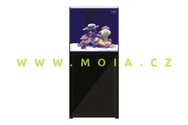 Akvarijní set L'Aquarium 250 l,  60 × 52 × 144 cm, černá skříňka