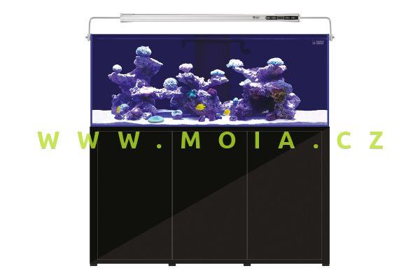 Akvarijní set L'Aquarium 720 l,  150 × 60 × 144 cm, černá skříňka